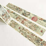Vintage Map Paper Washi Tape - 15mm x 10m - SweetpeaStore