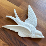 Set of 3 White Swallow Vintage Home Decoration by Sass & Belle - SweetpeaStore
