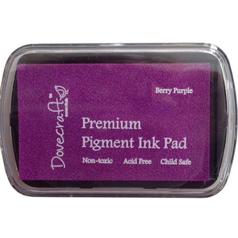 Dovecraft Premium Pigment Ink Pad BERRY PURPLE - SweetpeaStore