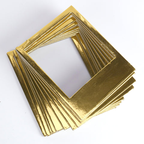 Instant Photo Frames - Gold Metallic Card - SweetpeaStore