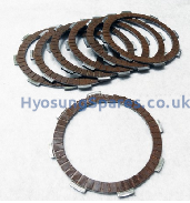 Genuine Daelim Clutch Drive Plate SET (7) VJF250 VL250