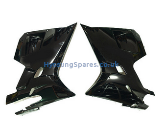 Hyosung Black Lower Fairings Pair GT125R GT250R GT650R