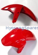 Genuine Hyosung Red Front Fender All GT