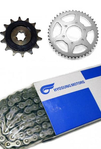 HYOSUNG CHAIN SPROCKET KIT GV125
