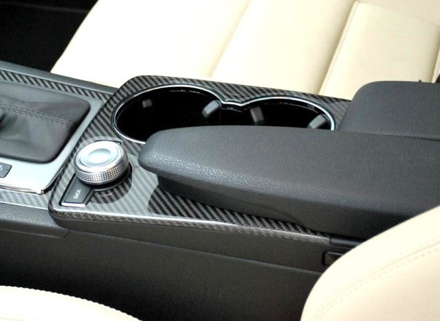 W204 C Class Upper centre console Carbon fibre USA models