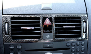 W204 C Class Rear Air Vents Carbon fibre