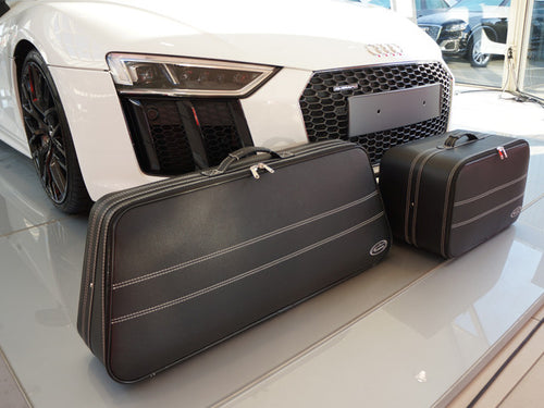 Audi R8 Spyder Roadster bag Luggage Baggage Case Set - models From 2015 only