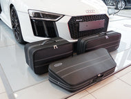 Audi R8 Coupe Roadster bag Luggage Baggage Case Set - models from 2015