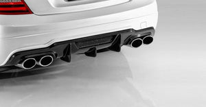 Carbon Fibre Rear Diffuser V Style for W204 AMG C63 & Sport Pack