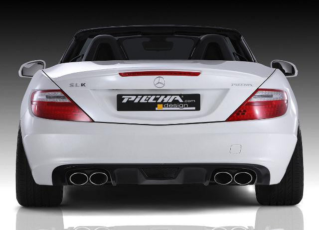 Piecha Accurian RS Design Rear Diffuser Std Styled models - smal
