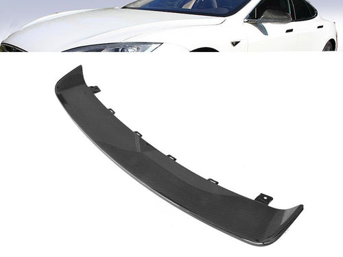 Carbon fibre Rear bumper diffuser Gloss finish Tesla S from 06/2012