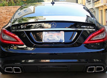 Load image into Gallery viewer, C218 CLS63 Carbon fibre Rear diffuser