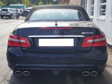 Load image into Gallery viewer, CKS W207 E Class Coupe Cabriolet Sport Exhaust with 4 x AMG Style Oval tailpipes