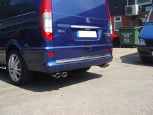 Load image into Gallery viewer, CKS W639 Viano V Class Vito Quad tailpipe exhaust