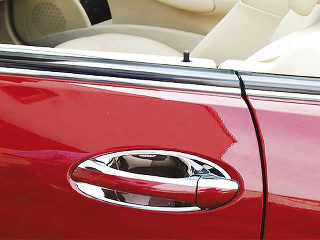 Mercedes Chrome Door Handle Inserts