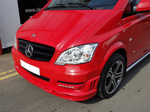 W639 Vito Front Spoiler Lip Models from 10/2010