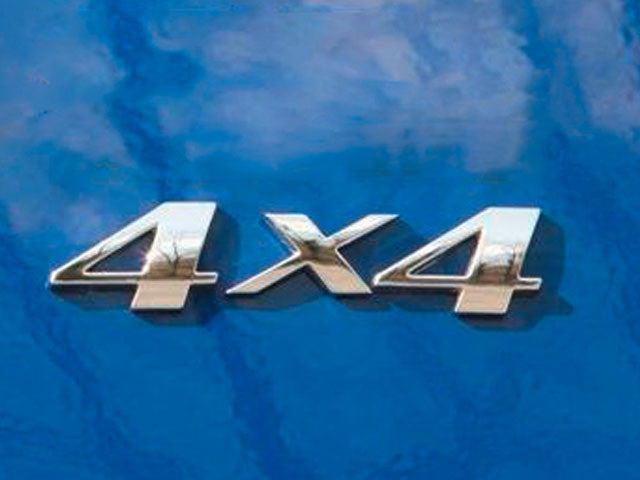 Mercedes 4X4 Badge Emblem