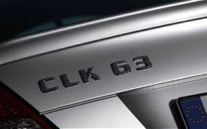 AMG CLK63 boot trunk lid badge