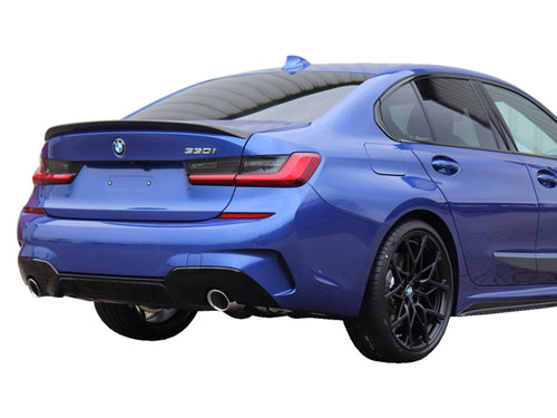 BMW 3 Series G20 M Performance Package Rear Diffuser Insert Gloss Black