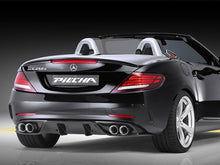 Load image into Gallery viewer, R172 SLC Piecha RS Rear Diffuser insert and tailpipe package AMG Line and SLC43