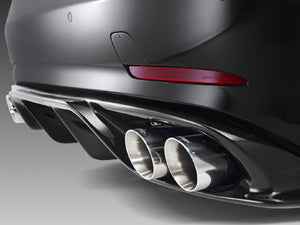 R172 SLC Piecha RS Rear Diffuser insert and tailpipe package AMG Line and SLC43