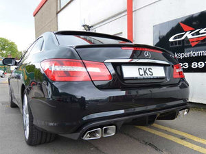 W207 E Class Coupe and Cabriolet RS Rear diffuser Insert Paintable finish