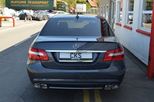 Load image into Gallery viewer, CKS W212 E63 Style Sport Exhaust with 4 x AMG Style E63 Double Square tailpipes Saloon and Estate