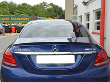 Load image into Gallery viewer, AMG C63 W205 Carbon Fibre Boot Trunk Spoiler Saloon