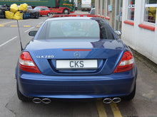 Load image into Gallery viewer, CKS SLK Sports Quad tailpipe exhaust system - all models