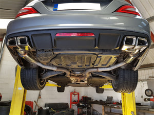 CKS C218 CLS Quad tailpipe exhaust - all models incl. CLS63
