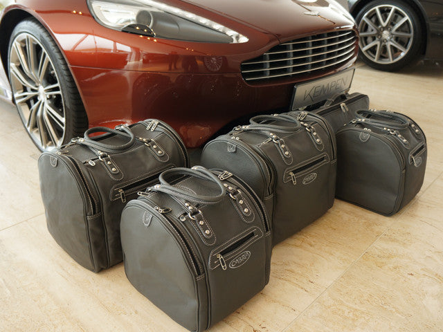 Aston Martin Vanquish Volante Luggage Baggage Case Set Roadster bag