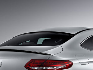 Mercedes C205 C Class Coupe Roof Window Spoiler