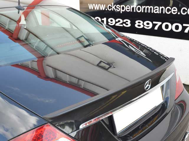 AMG CLS55 Style W219 CLS Boot Trunk Lid Spoiler