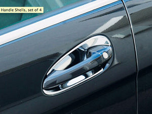 Chrome door handle shells set R171 SLK W209 CLK R230 SL W215 CL