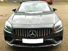 Load image into Gallery viewer, R172 SLC Panamericana Grille Black with Chrome Bars - NOT FOR SLK