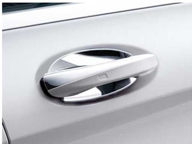 C217 S Class Coupe Chrome Door Handle Shells