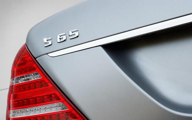 AMG S65 Boot lid badge