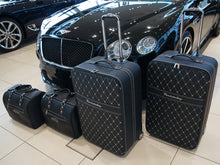 Load image into Gallery viewer, Bentley Continental GT Coupe Luggage Roadster bag Set Models from 2011 TO 2018