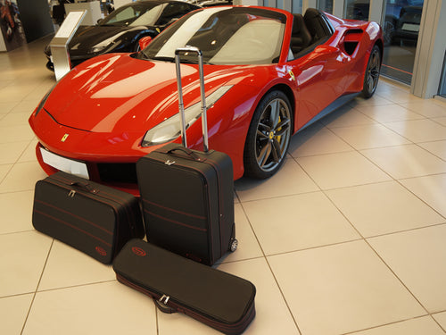 Ferrari 458 488 Luggage Roadster bag Baggage Case Set
