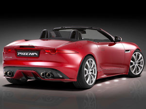 Jaguar F Type Cabriolet Boot Trunk Lid Spoiler
