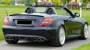 R171 SLK RS Rear Diffuser for Std Mercedes rear bumper from 2008