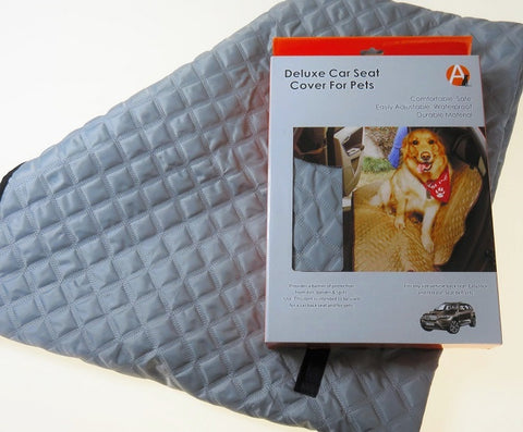 Quilted Car Seat Protector for Pet Travel- On Sale!