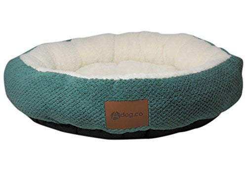 Sage Green Ultra Soft Round Dog Beds
