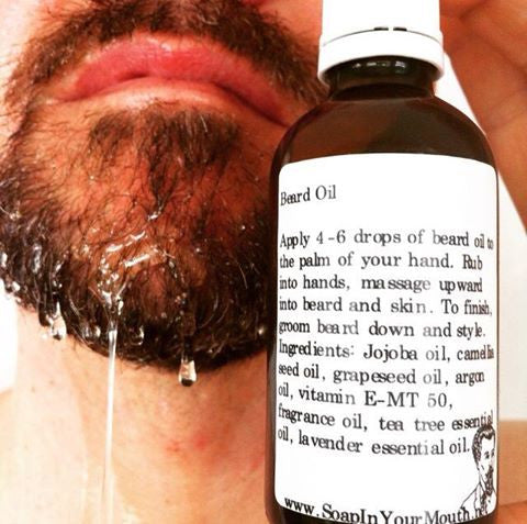 Beard Oil - Soap In Your Mouth