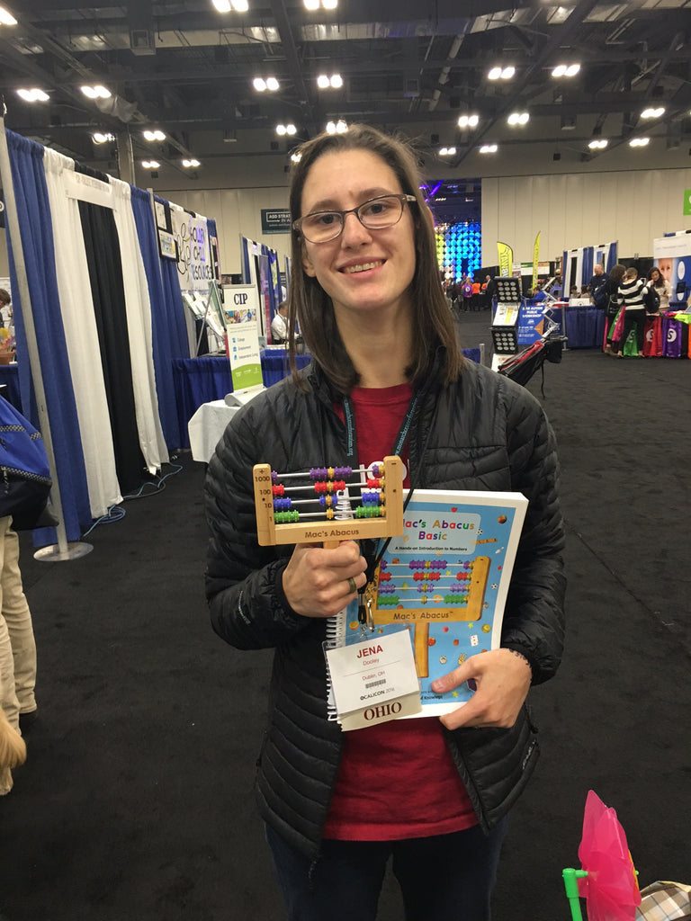 Congrats to Jena Dooley (OCALICON 2015 Door Prize Winner)