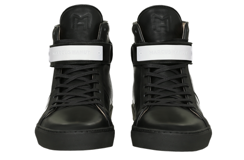 CLASSIC HIGH TOP MEN | MATTE WHITE | BLACK