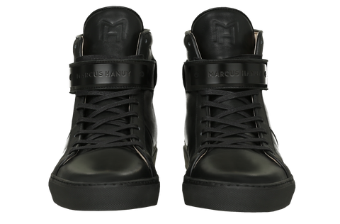 CLASSIC HIGH TOP MEN | MATTE BLACK | BLACK