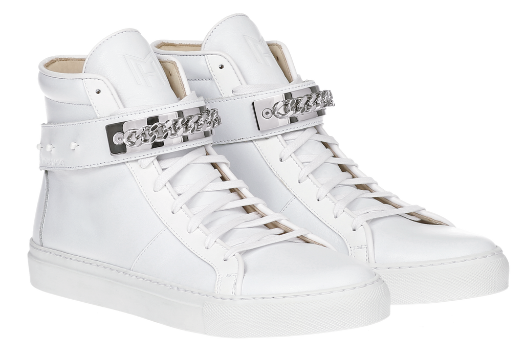 CLASSIC HIGH TOP MEN | HARLEM | WHITE