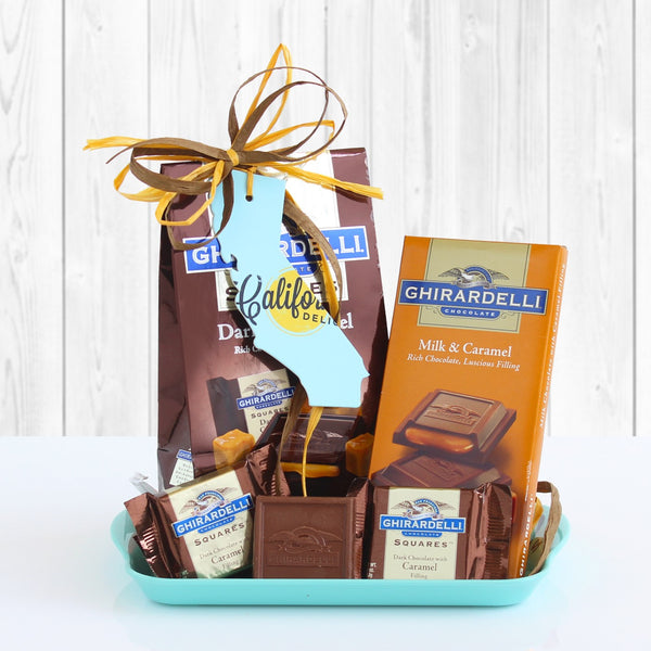 California Ghirardelli Chocolate Tray
