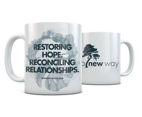 A New Way Slogan Mug